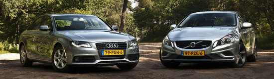 Audi A4 2.0 TDIe vs. Volvo S60 1.6D DRIVe