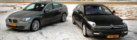 Citroën C6 vs. BMW 5 GT