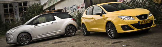 Citroën DS3 vs. Seat Ibiza FR