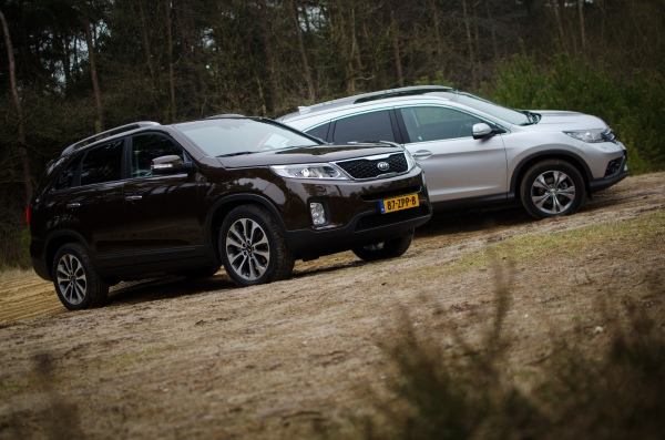 Honda CR-V vs. Kia Sorento