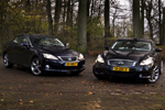 Lexus IS 250C vs. Infiniti G37 Cabrio