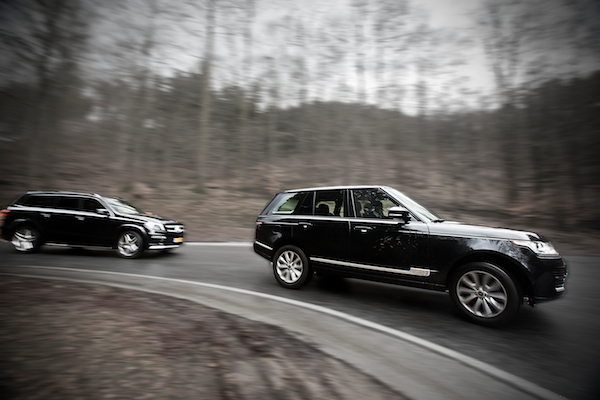 Mercedes-Benz GL vs. Land Rover Range Rover