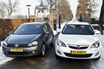 Opel Astra vs Volkswagen Golf