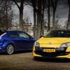 Renault Mégane Coupé RS vs. Ford Focus RS