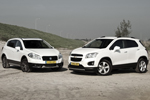 Suzuki SX4 S-Cross vs. Chevrolet Trax