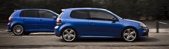 Volkswagen Golf R vs. R32